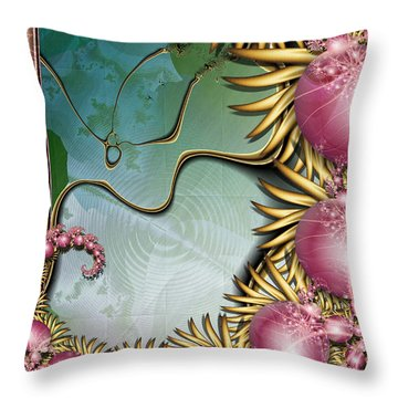 Colors At Play Throw Pillow