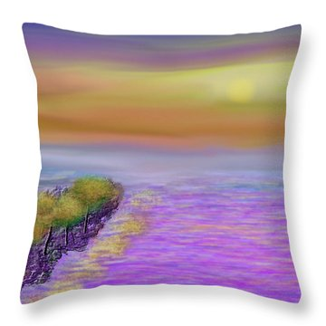Colors Before Sunset Throw Pillow