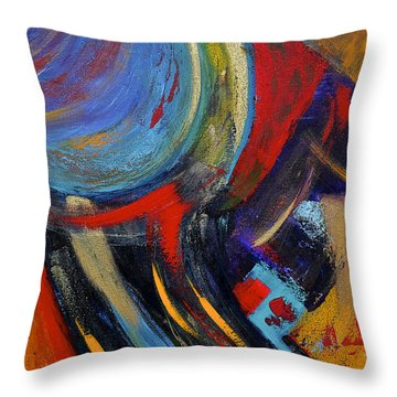 Colors For Emerson Throw Pillow