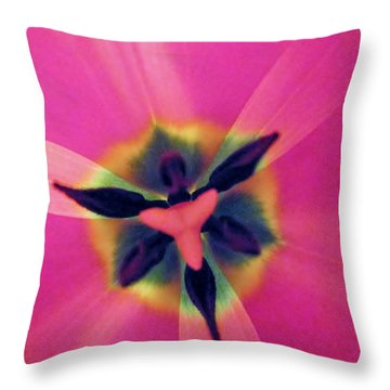 Nature Erotica Throw Pillow