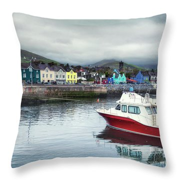 Colors Of A Cloudy Day Throw Pillow