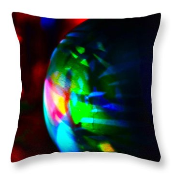 Colors Of Christmas Throw Pillow