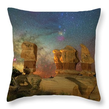 Colors Of Darkness Throw Pillow