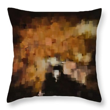 Colors Of Fall Throw Pillow
