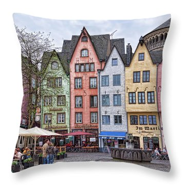 Colors Of Germany Throw Pillow