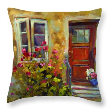 Colors Of Italy Throw Pillow