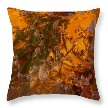 Colors Of Nature 2 Throw Pillow by Sami Tiainen