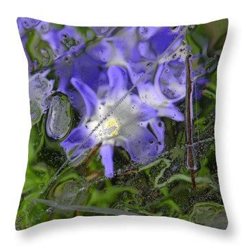 Colors Of Nature 6 Throw Pillow by Sami Tiainen