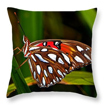 Throw Pillow featuring the photograph Colors Of Nature - Natures Tapestry by George Bostian