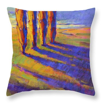 Colors Of Summer 5 Throw Pillow