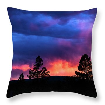 Colors Of The Spirit Throw Pillow