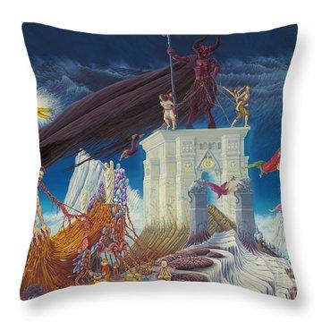 Colors Of Unsuccess Throw Pillow