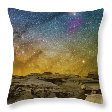 Colors On The Rise Throw Pillow