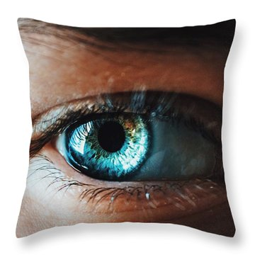 Throw Pillow featuring the photograph Colors by Parker Cunningham