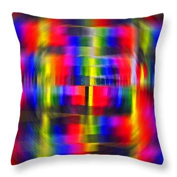 Colorwheel  Throw Pillow