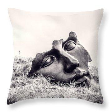 Colossal Mask Throw Pillow