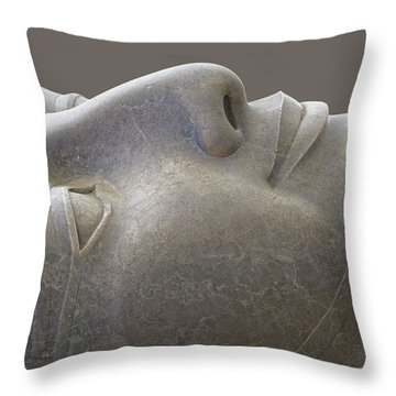 Colossal Smile Throw Pillow