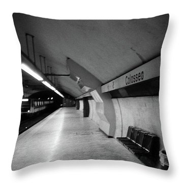 Colosseo Station Throw Pillow