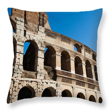 Colosseum - Old And New Throw Pillow