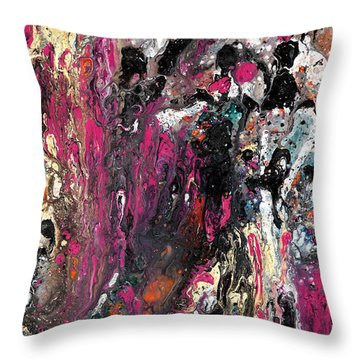 Colour Fantasy Throw Pillow