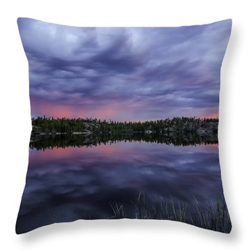 Colour In The Midnight Sky Throw Pillow