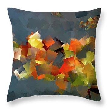 Colour Klatch Throw Pillow