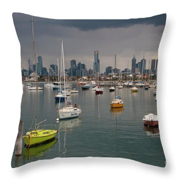 Colour Of Melbourne 2 Throw Pillow
