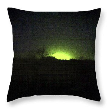 Colour Out Of Space Throw Pillow