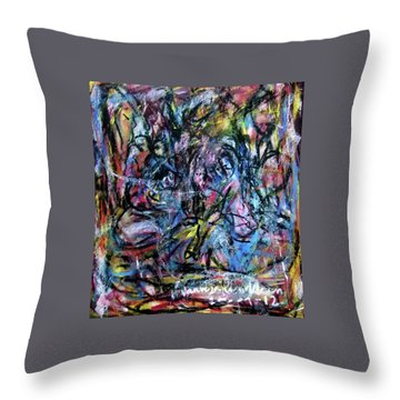 Colour Talking Throw Pillow