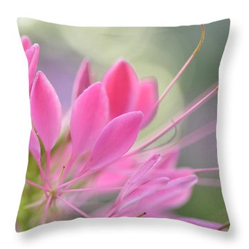Colourful Greeting II Throw Pillow