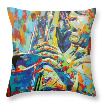 Coltrane Throw Pillow