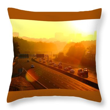 Columbia Morning 1 Throw Pillow