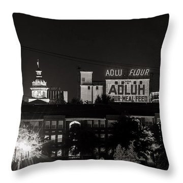 Columbia Skyline Throw Pillow