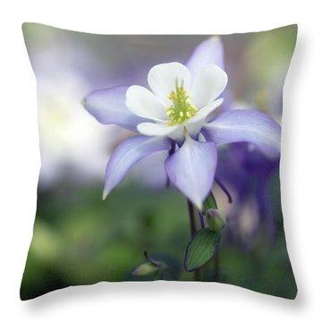 Columbine Queen Throw Pillow