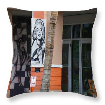 Columnart Throw Pillow