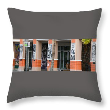 Columnart Throw Pillow