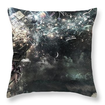 Coma Throw Pillow