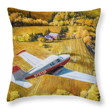 Comanche Throw Pillow