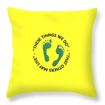 Combat Search And Rescue Throw Pillow