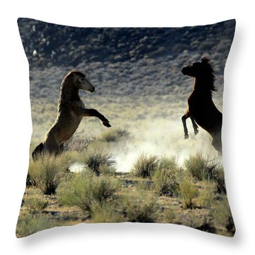 Combatants V Throw Pillow