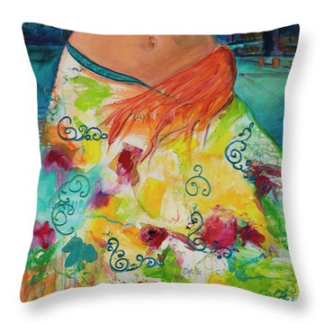 Combustible Throw Pillow