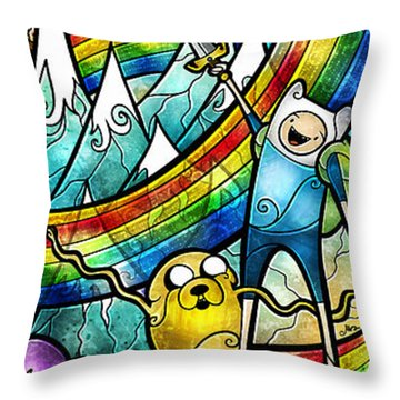 Come Along With Me Throw Pillow