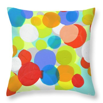 Come And Gone Throw Pillow