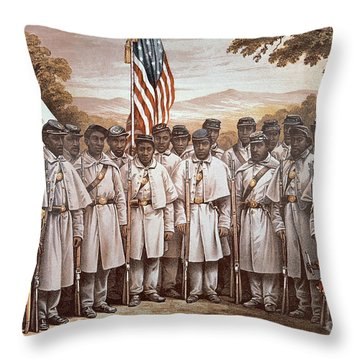 'come And Join Us Brothers' Throw Pillow
