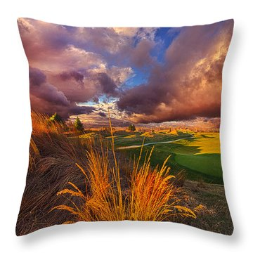 Come Dance With The West Wind Throw Pillow