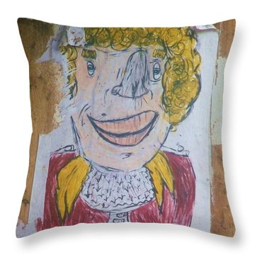 Come Find Yourself IIi Throw Pillow by Anna Villarreal Garbis