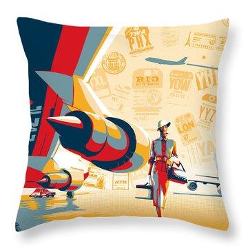 Silk Throw Pillows