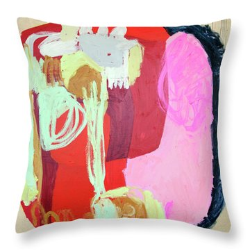 Come For Dinner Throw Pillow