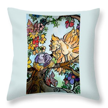Come Grow Old With Me The Best Is Yet To Be Throw Pillow
