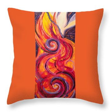 Come Holy Spirit Throw Pillow